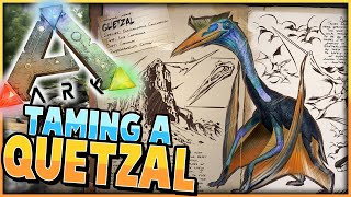 ARK: Survival Evolved | TAMING a QUETZAL... AVATAR Style! | S2 Ep 21 | (Gameplay) w/ Spumwack