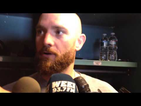 Jonny Gomes explains robbing Dustin Pedroia, return to Fenway