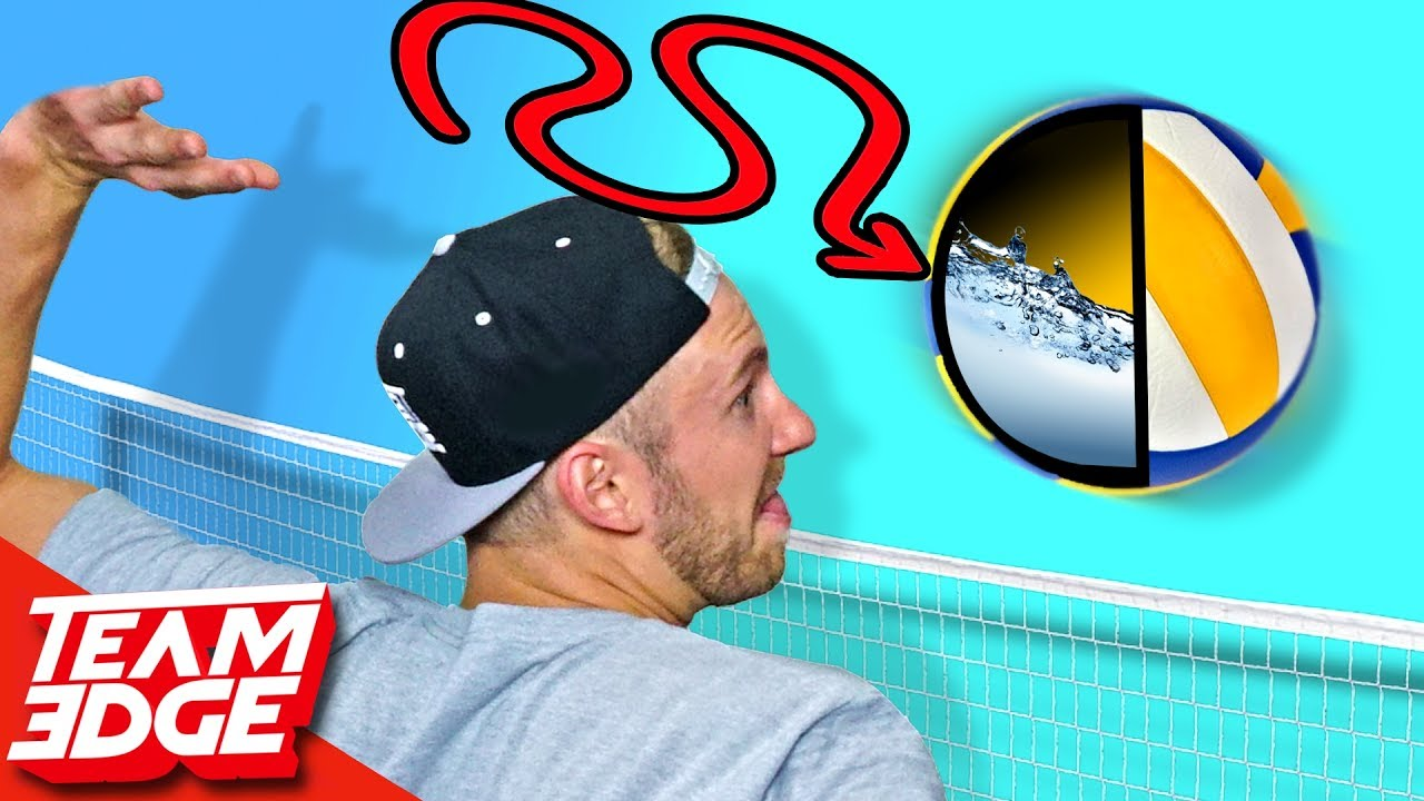 Water Filled Volleyball Challenge!!