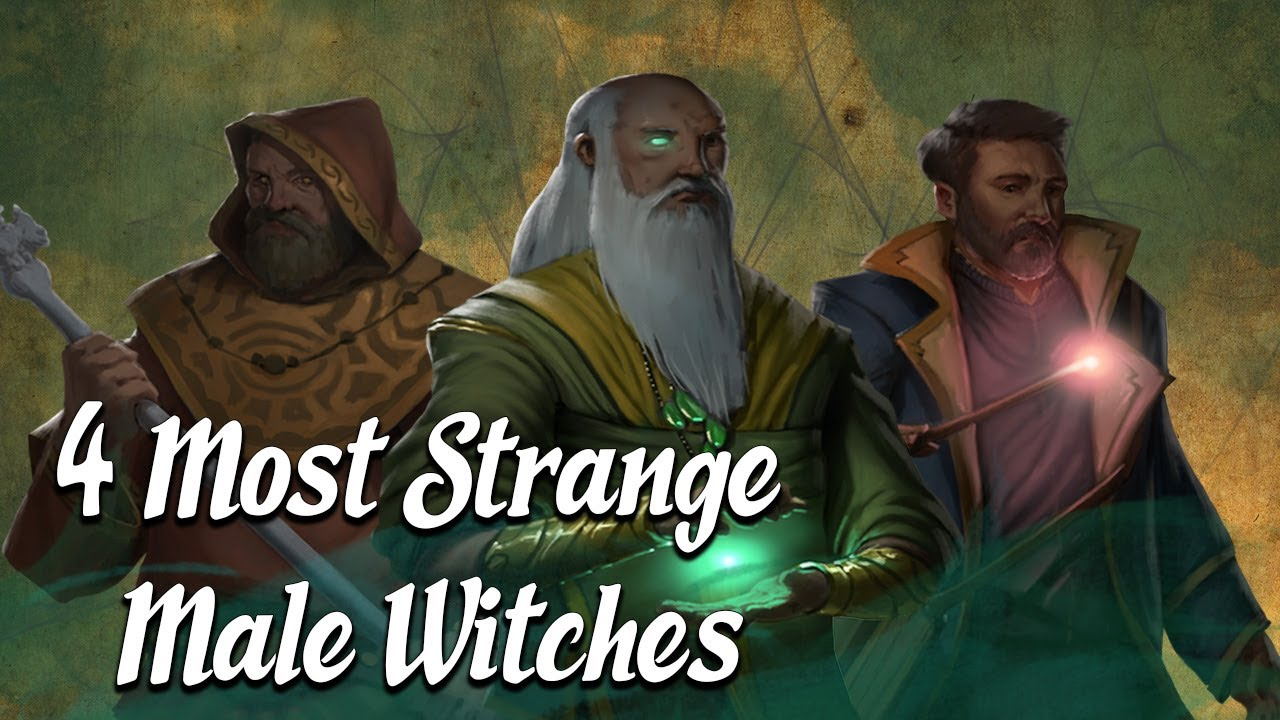 4 Most STRANGE Male Witches (Occult History Explained)