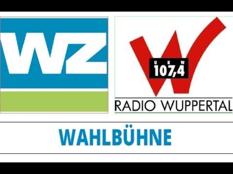 Die Wahlbühne von Radio Wuppertal und der Westdeutschen Zeitung
