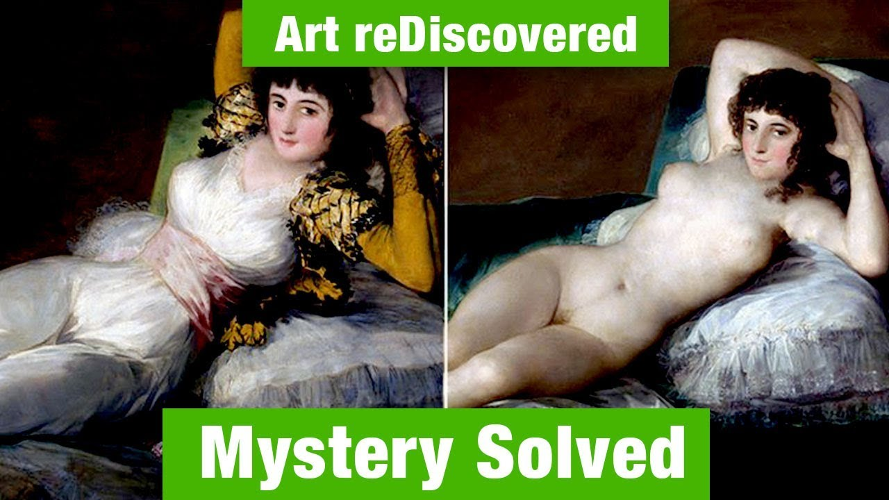 Maja Vestida Maja Desnuda Goya Art Mystery