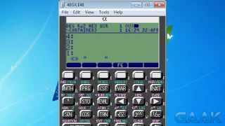 HP calculators: Transparent menu names on 48 series - Gaak