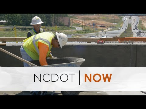 NCDOT Now - Girls In Engineering, Work Zone Safety And NC First Commission