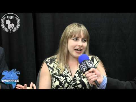 BronyCon Summer 2012 - Andrea Libman Interview by EQI