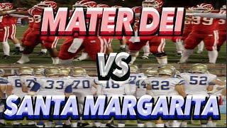 Mater Dei Vs Santa Margarita : Utr Highlight Mix 2014