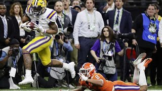 #1 Lsu Vs #3 Clemson 2020 College Football National Championship Full Highlights