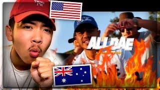 Ezra James - ALL DAE Feat. Lawd Lance & Nokz78 (Official Music Video) AMERICAN REACTION! Australian
