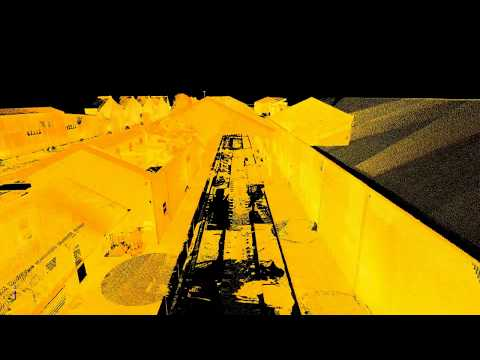 Port Doc Railway Project - Laser Scan Survey of Railway Museum