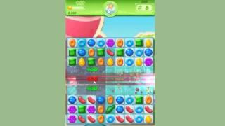Candy Crush Jelly Saga Level 203 ~ Remove the Puffler