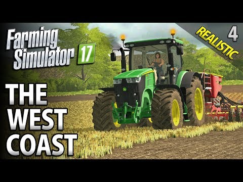 Let's Play Seasons Farming Simulator 17 | The West Coast | Episode 4