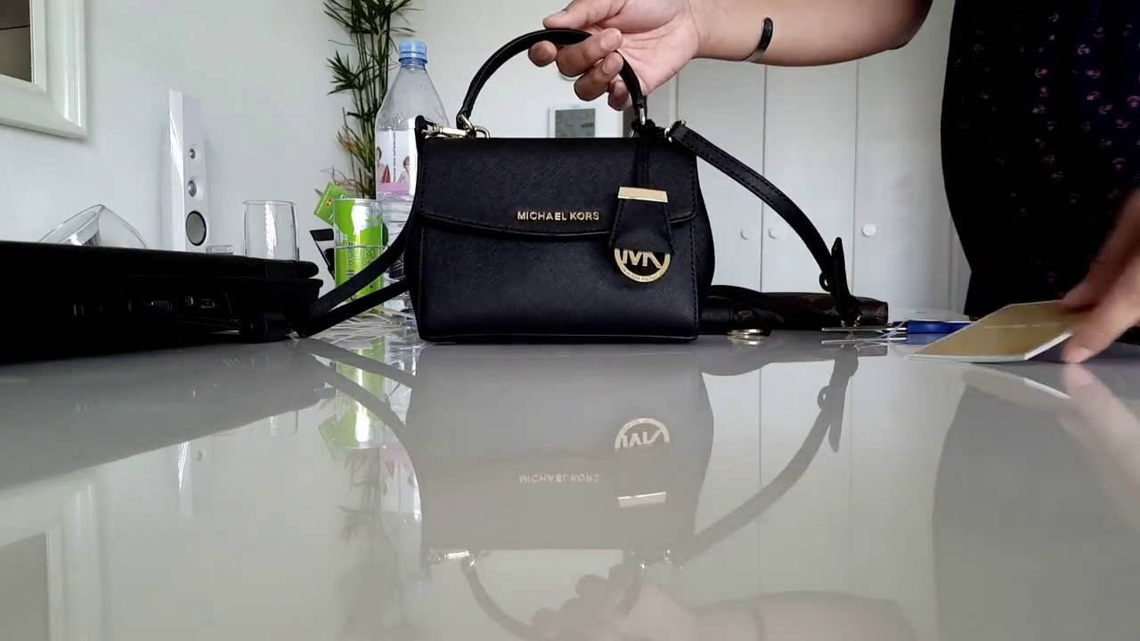 8529205d8e58 Michael Kors AVA xs crossbody by Airiya - YouTube