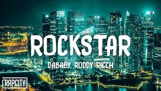 DaBaby – ROCKSTAR ft. Roddy Ricch (Lyrics)