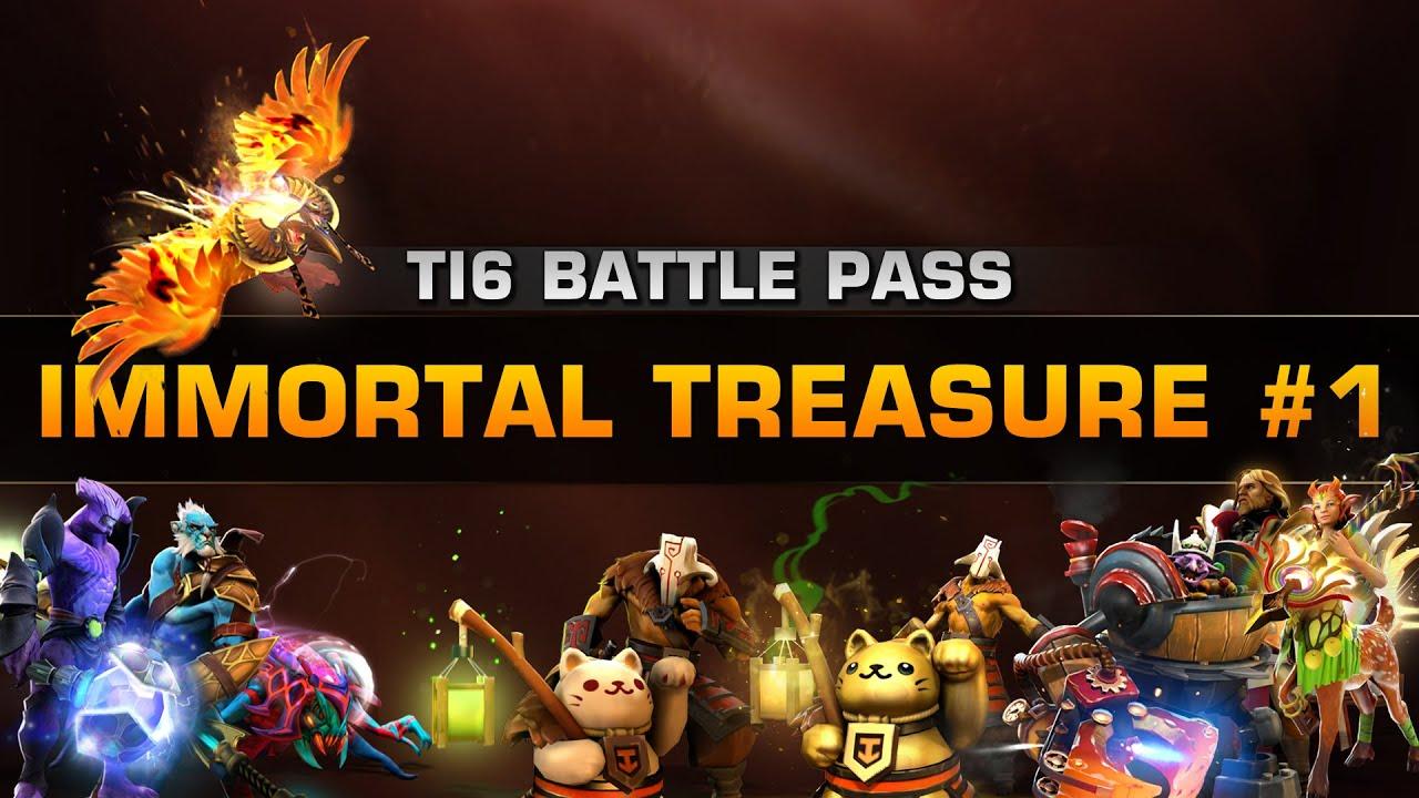 dota 2 ti6 immortal treasure 1 youtube