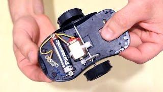 Как сделать машинку из старой мышки