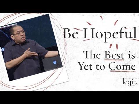 Legit - Be Hopeful - Bong Saquing