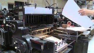Imprimerie Vanaerde - Perforation