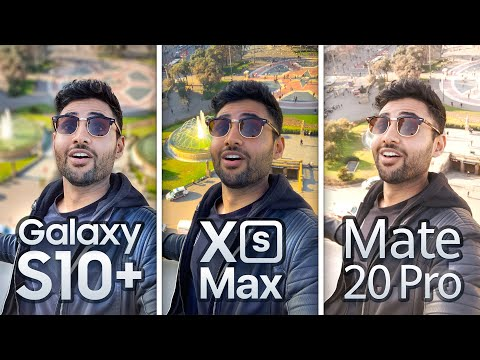 Samsung S10 Plus vs iPhone XS Max / Mate 20 Pro EXTREME Camera Test