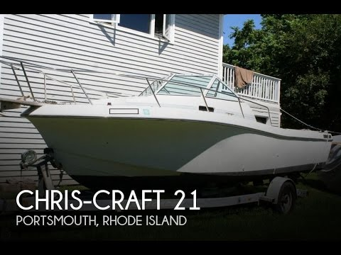 [unavailable] used 1989 chris-craft 21 in portsmouth, rhode island