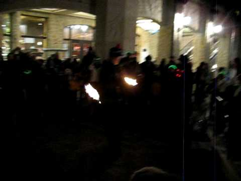 New Years Eve Fire Show at Arabelle.avi