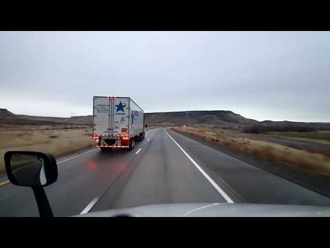 BigRigTravels LIVE! Mountain Home, Idaho to Henry, Nevada Interstate 84, US 93-Nov. 17, 2017