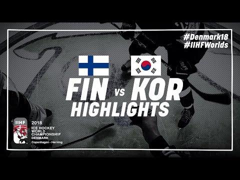 Game Highlights: Finland vs Korea May 5 2018 | #IIHFWorlds 2018