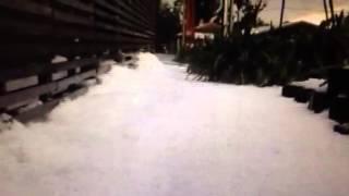 Cataclysmic Hail Falls In Sydney Australia