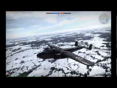 War Thunder: German Bomber Hunters.  BF110 C-4, Do 217 J-1 and Do 217 J-2 Review.