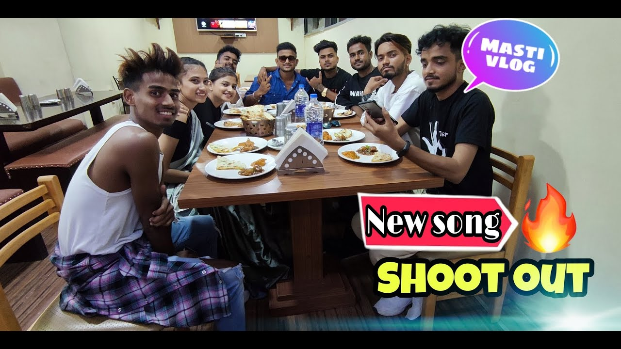 New song shoot out | Balwant Singh Dhaba Mein party | @zb rai new song shoot vlog | Living with sonu