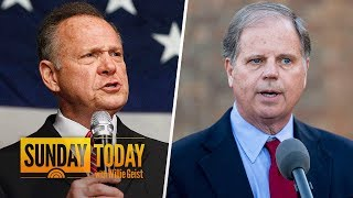 Roy Moore, Doug Jones Making Last Pitches Before Special Senate Election   Sunday TODAY