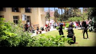 Flash Mob Palestine 2013 - Alexandria University