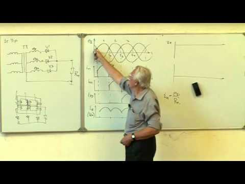 4.2. Трехфазные однотактные выпрямительные схемы.