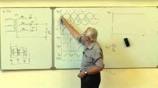 видео Трехфазный мостовой выпрямитель - принцип работы и схемы