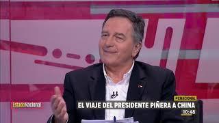 """Canciller Ampuero tras visita de Mike Pompeo: """"A Chile nadie lo pautea""""."""