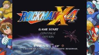 Mega Man X Legacy Collection - Rockman X4 Gameplay (Rockman X Anniversary Collection)