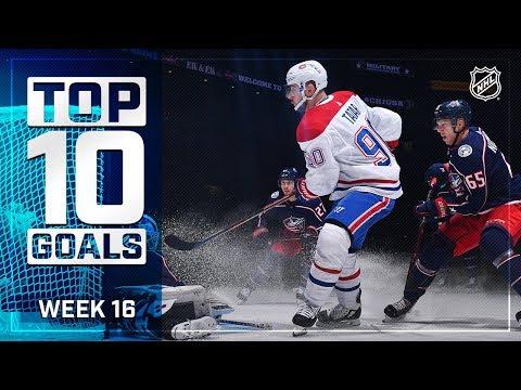 Top 10 Goals from Week 16