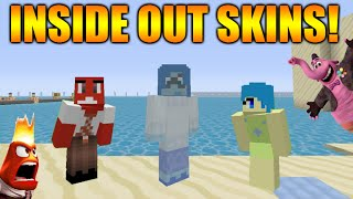 ★Minecraft Xbox 360 + PS3: Cool Disney Pixar Inside Out Skinpack Theme + Animal Crafting Texture ★