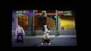 PSP - Midway Arcade Treasures Extended Play - Mortal Kombat 3 gameplay