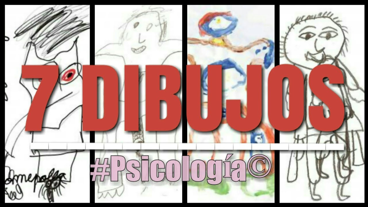 Dibujos En El Maltrato Infantil Recomendado Psicólogos 1ra Parte Psicologia Visual