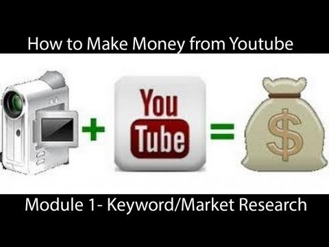 HOW TO MAKE MONEY ON YOUTUBE - BEST KEYWORDS TO USE ON YOUTUBE - 동영상