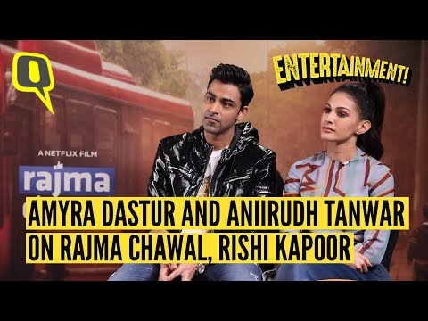 Netflix's 'Rajma Chawal' cast Amyra Dastur and Anirudh Tanwar on working with Rishi Kapoor and more.