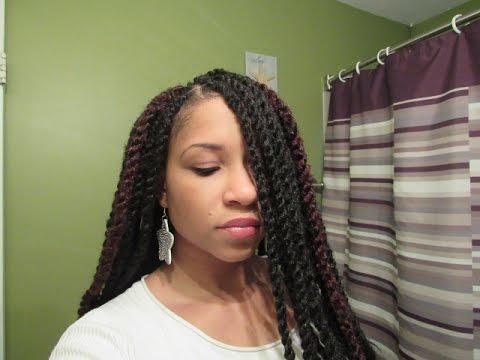 Marley Twist + Ya Man Afro Kinky Braid - YouTube