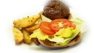 Healthy Homemade Hamburger - Gordon Ramsay