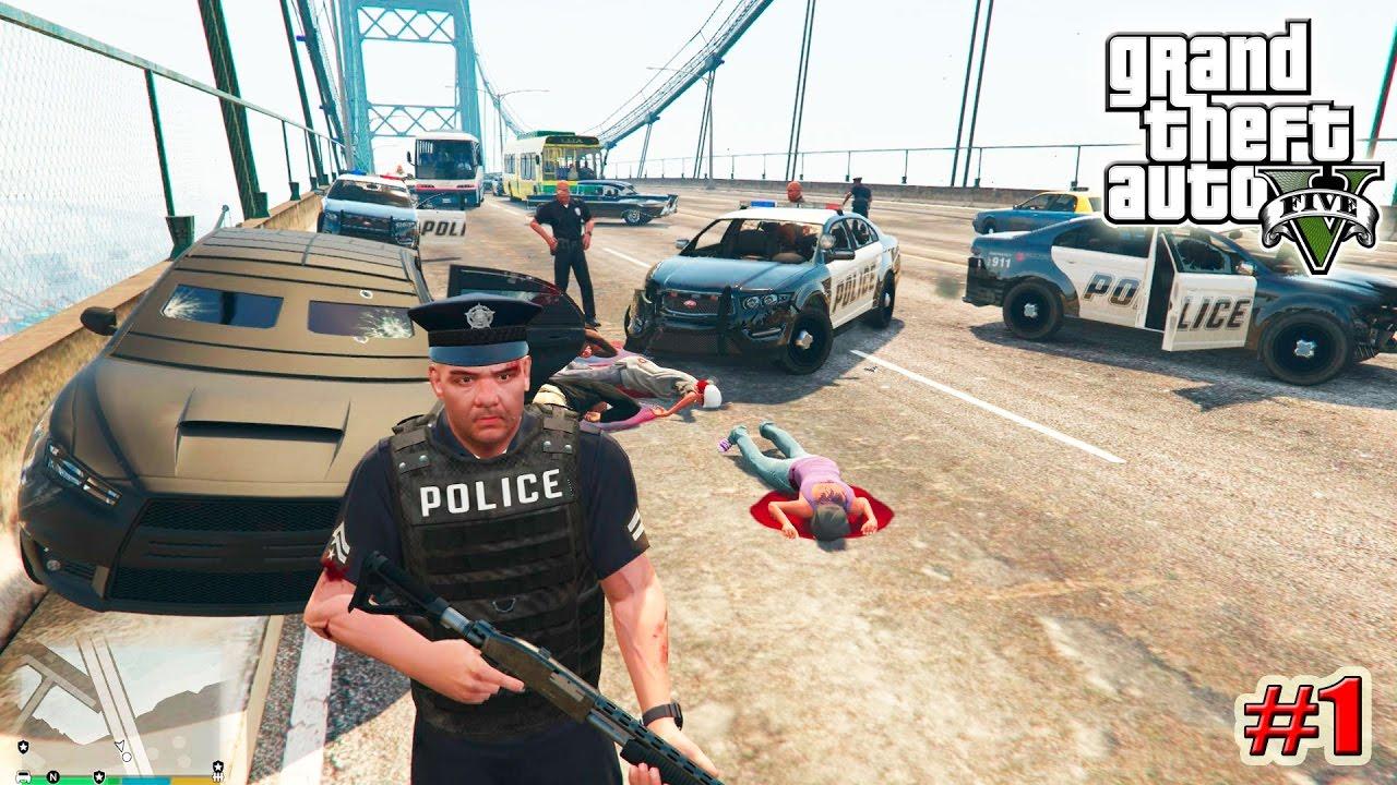 Gta 5 мод Полиция