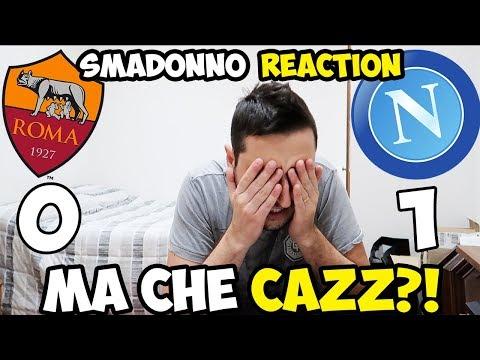 DE ROSSI MA CHE CA**O FAI?! ROMA-NAPOLI 0-1 [LIVE REACTION]