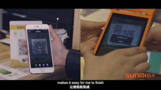 The perfect android device to process online order from takeaway platform, like grubhub, uber east, food panda, baidu wai mai