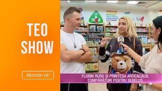 Teo Show (07.10.2019) - Florin Rusu si Printesa Ardealului, cumparaturi pentru bebelus!