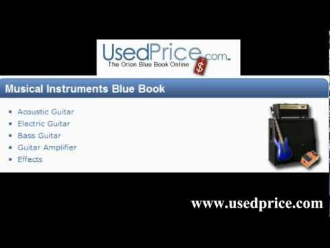 Usedprice market value-Blue Book on Electronics- Computer, Musical Instrument, over 700,000 products