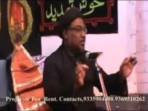 Majalis by Moulana Feroz Husain Zaidi in Lucknow part-2
