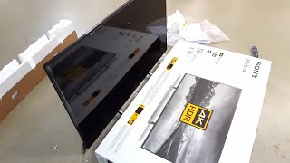 Sony XE70 Smart TV - Unboxing, Setup & Review